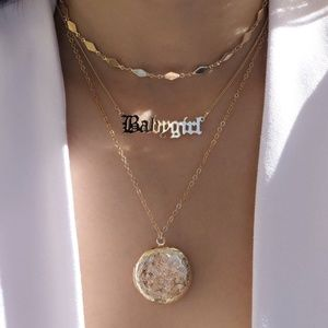 Jewelry - Baby girl (real locket for pictures) necklace